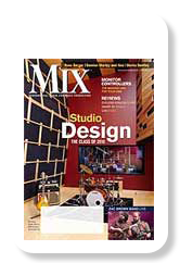 Cover of Mix Magazine, June 2010